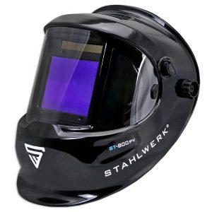 lashelm STAHLWERK ST-800PV glanzend/Zwart