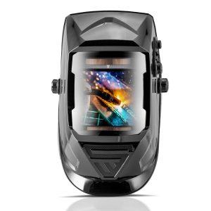Volautomatische lashelm ST-990 XB glanzend zwart