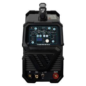 AC / DC TIG 200 Puls D IGBT zwart - volledige uitrusting