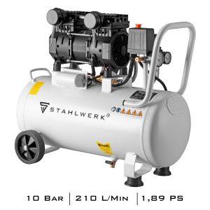 STAHLWERK perslucht-fluistercompressor ST 310 Pro